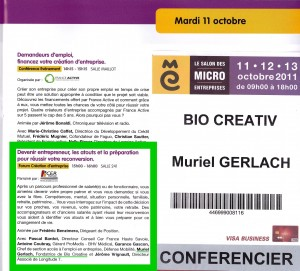 BIO - BIO CREATIVE -MURIEL GERLACh